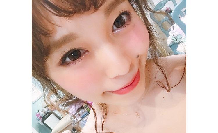 machiko メイク顔 顔アップ