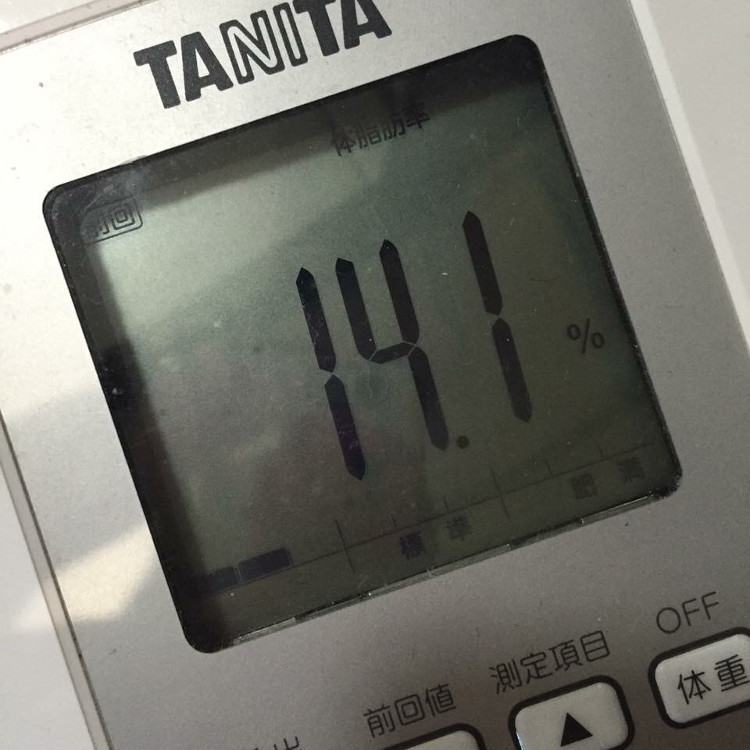 タニタ体脂肪計