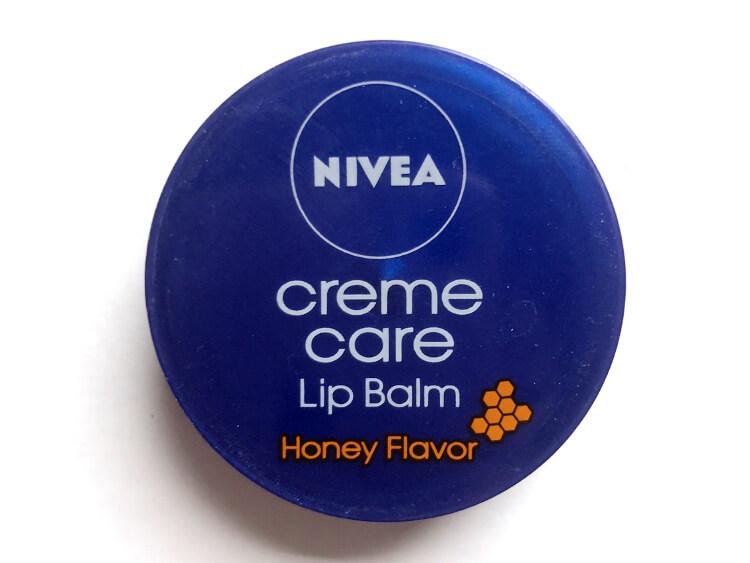 NIVEA クリームケアリップバーム はちみつの香り
