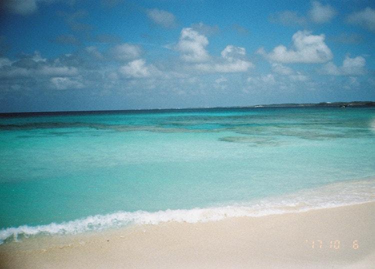 るんちゃん フィルムカメラで海を撮影