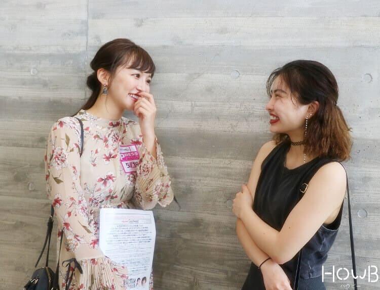 kumiちゃんと笹野千枝里さん