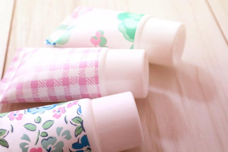 数種類の洗顔料イメージ