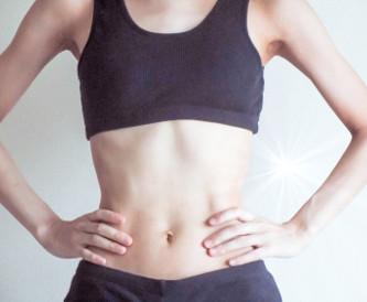 ダイエット後の腹部イメージ