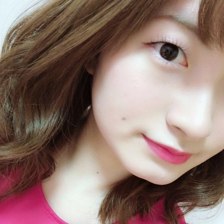 misaki ピンクメイク完成