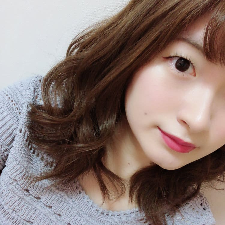 misaki メイク完成顔