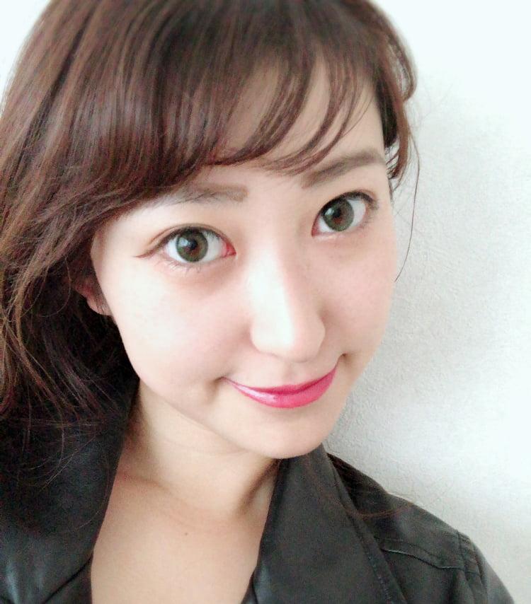 Mamiちゃん フェリアモのカラコン着用 顔アップ