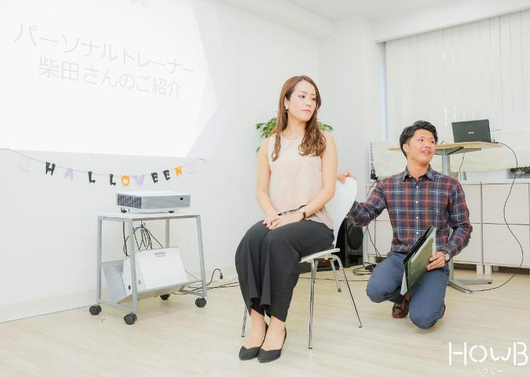柴田勇気さんのトレーニング指導
