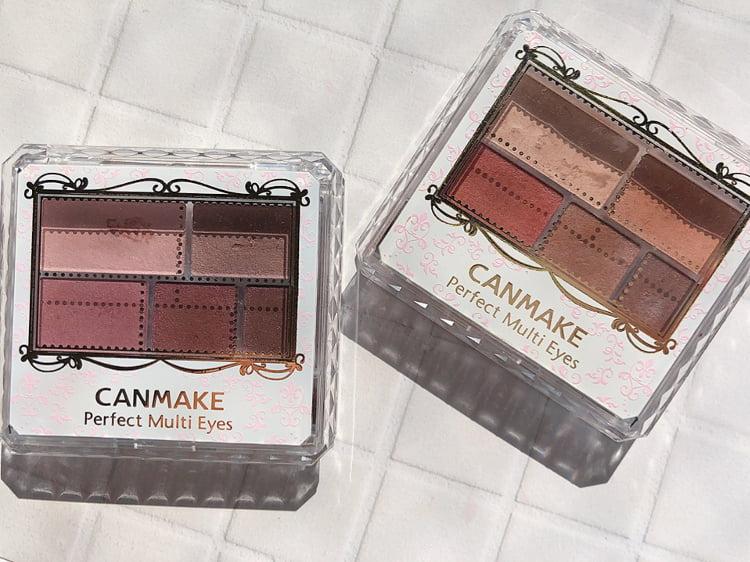 CANMAKEのアイシャドウ2種類