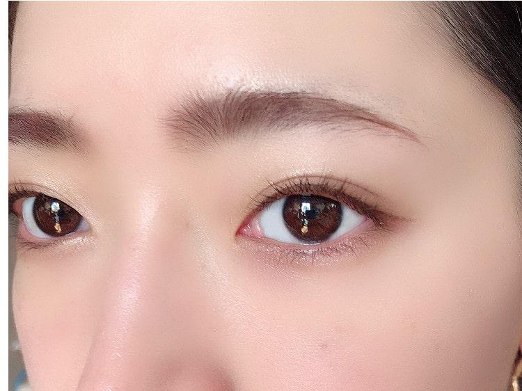 みーしゃの眉カラートレンドの説明