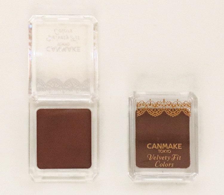 CANMAKEのクリームアイシャドウ