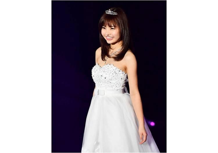 第1回グランプリ 笹野千枝里さんのステージ写真