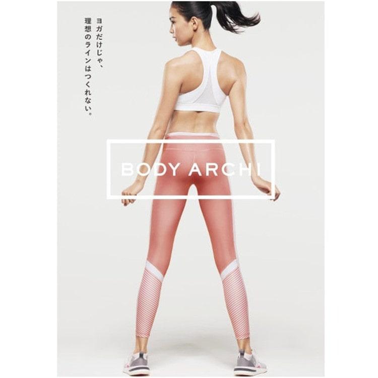 BODY ARCHIイメージモデルの矢野未希子さんのパネル画像