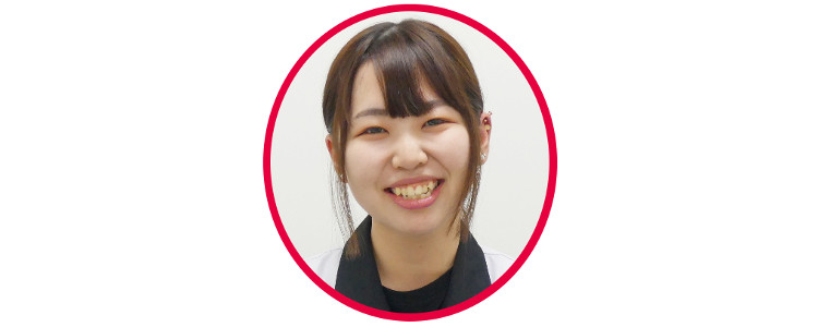 金子詩歩さんの顔