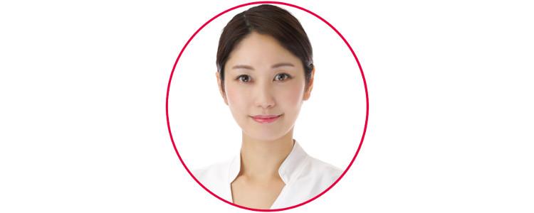 岡本華子さんの顔