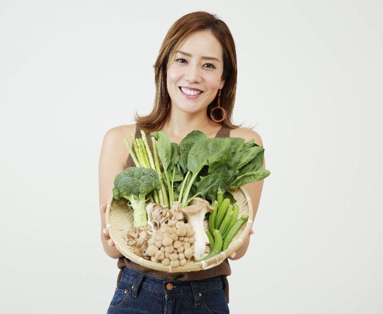 野菜を持つMarty
