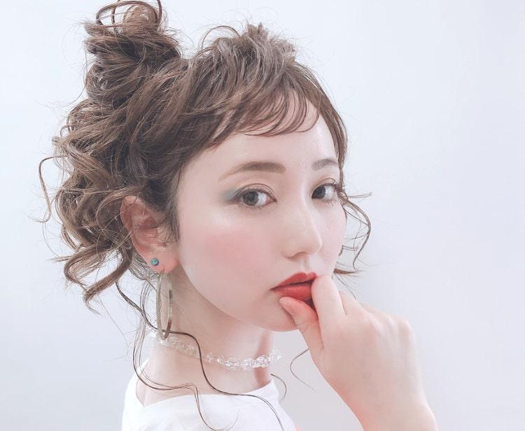星奈モモ メイク顔