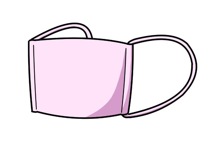 マスクのイラストイメージ