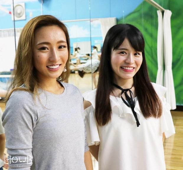 尾上さんと山田さん 笑顔