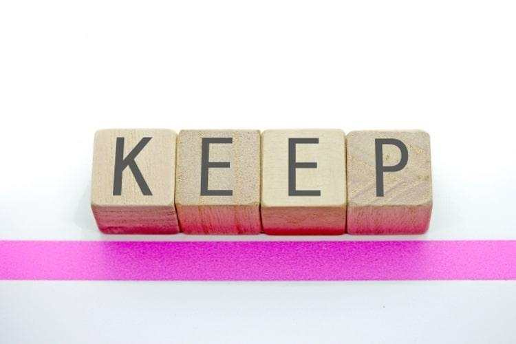 KEEPのブロック