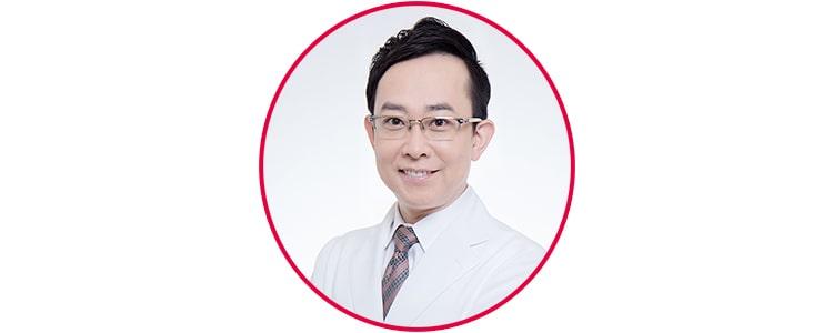 坂西寛信医師の顔