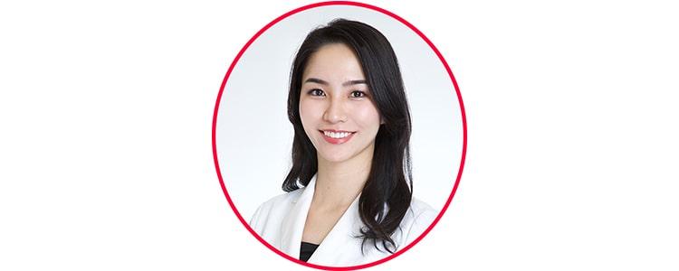 御園生 佳奈子医師の顔
