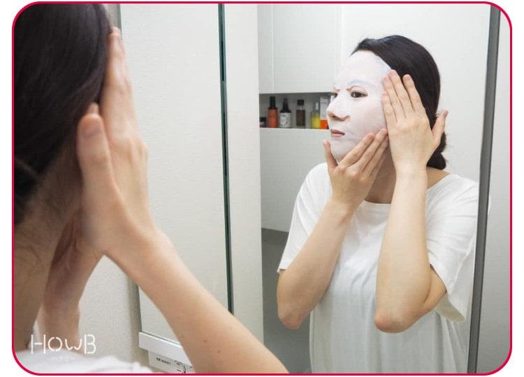 永松さん マスクを着ける