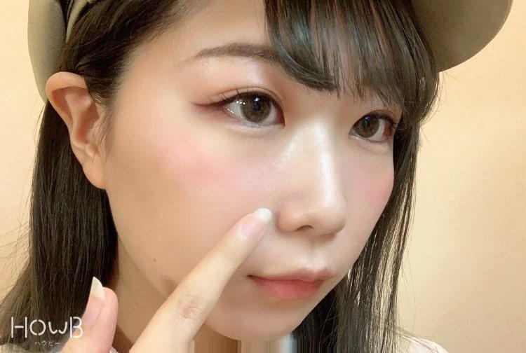 ヨコシマの顔 アップ