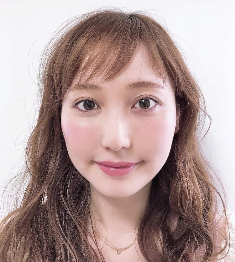 星奈モモ メイク完成顔
